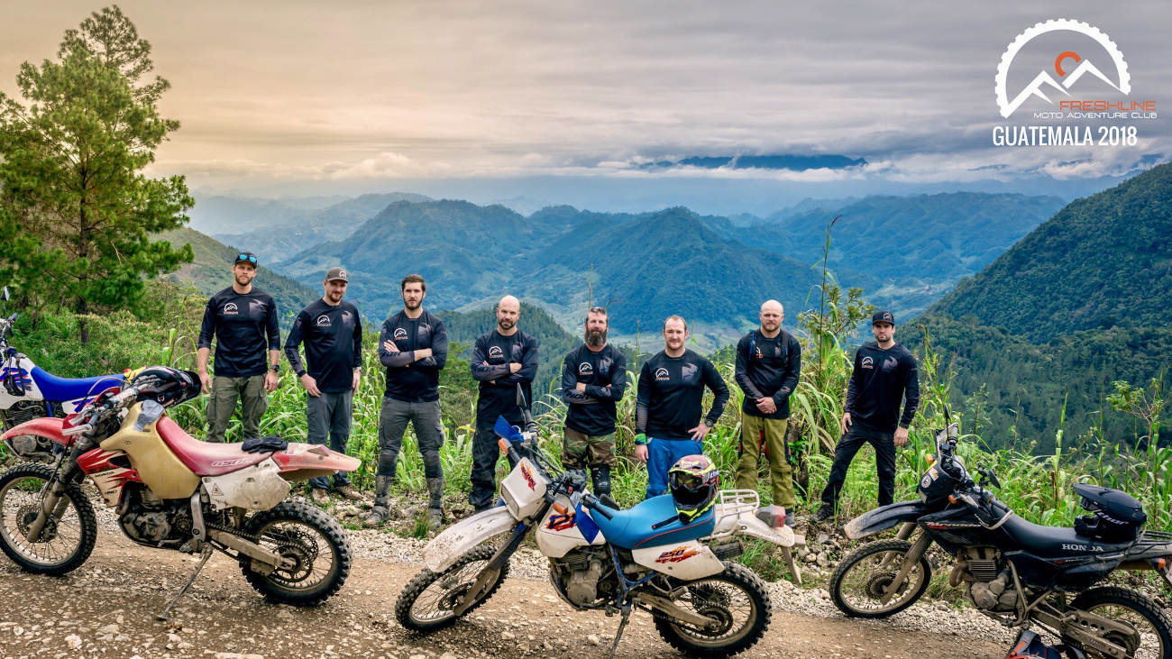 Freshline Moto Adventure Club Guatemala 2018