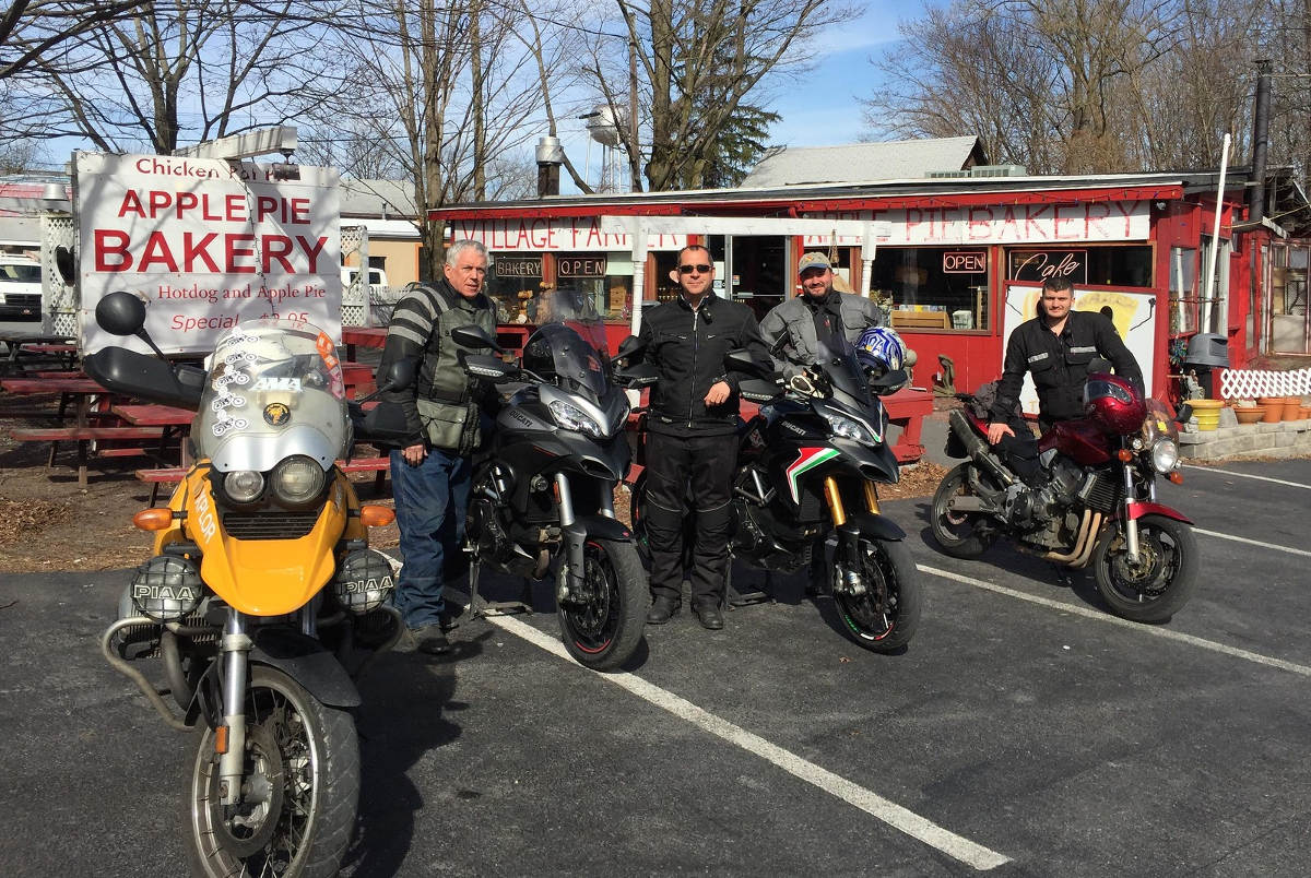 Sport Touring Motorcycle Club of New Jersey and New York Group Photo