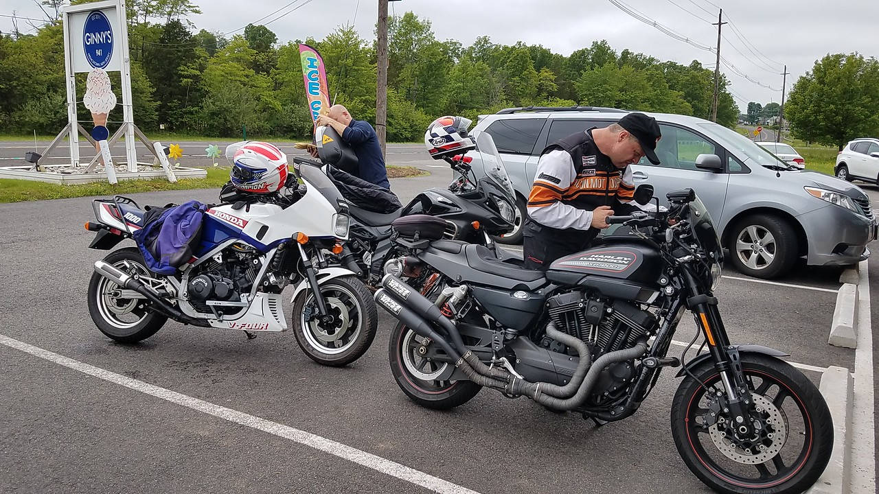 Sport Touring Motorcycle Club of New Jersey and New York Group Ride Photo